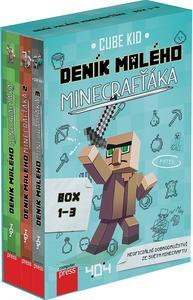 Obrázok Deník malého Minecrafťáka (BOX 1-3)
