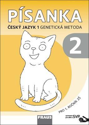 Obrázok Písanka 1/2 Český jazyk 1 Genetická metoda