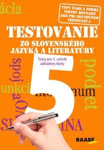 Obrázok Testovanie zo slovenského jazyka a literatúry 5