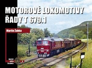 Obrázok Motorové lokomotivy řady T 379.1