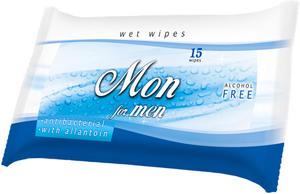 Obrázok AREON WET WIPES MON For men
