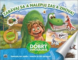 Obrázok Samolepkový album Dobrý dinosaurus