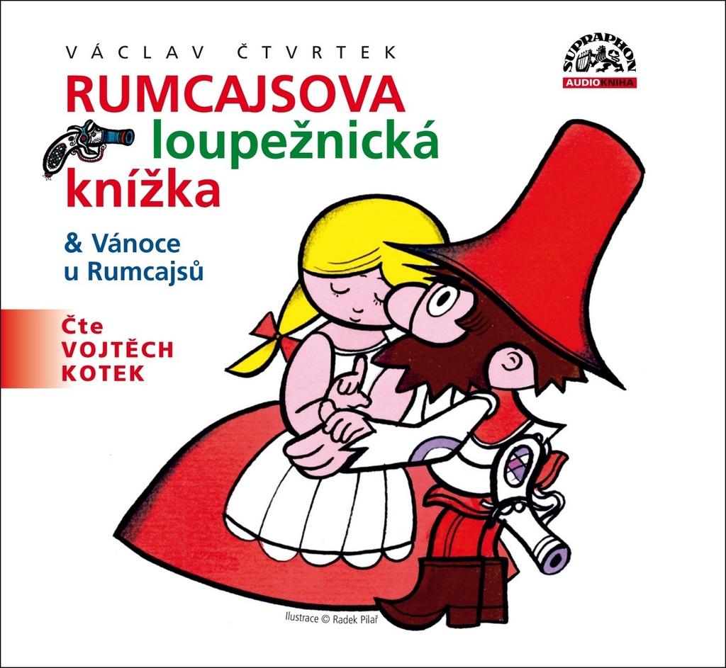 Rumcajsova loupežnická knížka - Václav Čtvrtek
