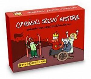 Obrázok Opráski sčeskí historje Karetní hra