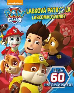 Obrázok Labková patrola Labkomaľovanky