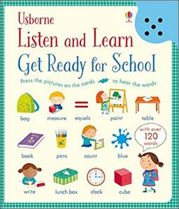 Obrázok Get Ready for School (Listen & Learn) (Listen and Learn)