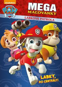 Obrázok Labková patrola Megamaľovanky