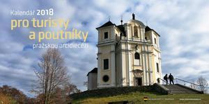 Obrázok Kalendář 2018 pro turisty a poutníky pražskou arcidiecézí