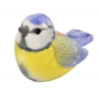 Obrázok Hrající plyšový ptáček - Sýkora modřinka