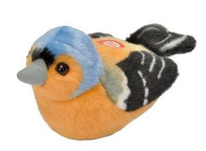Obrázok Hrající plyšový ptáček - Pěnkava