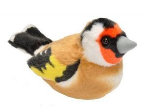 Obrázok Hrající plyšový ptáček - Stehlík
