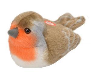 Obrázok Hrající plyšový ptáček - Červenka