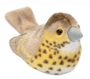 Obrázok Hrající plyšový ptáček - Drozd zpěvný