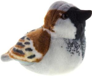 Obrázok Hrající plyšový ptáček - Vrabec