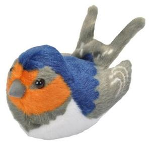 Obrázok Hrající plyšový ptáček - Vlaštovka