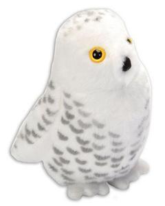 Obrázok Hrající plyšový ptáček - Sova sněžná