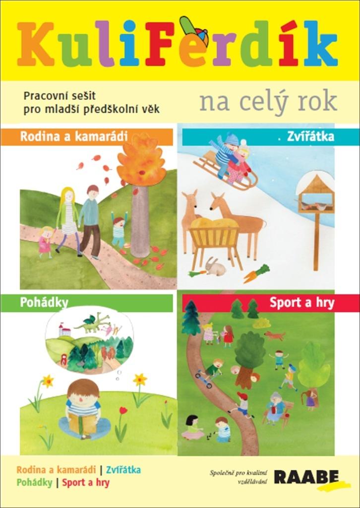 KuliFerdík na celý rok - Eliška Frková, Ivana Dvořáková, Jana Šebestová, Kateřina Vrbová, Mgr. Hana Nádvorníková