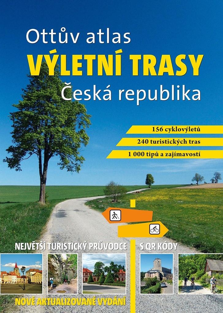Ottův atlas výletní trasy Česká republika - Ing. Ivo Paulík