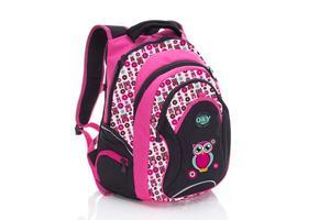 Obrázok Anatomický batoh OXY Fashion Pink Owl