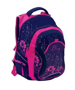 Obrázok Anatomický batoh OXY Fashion Pink Flowers