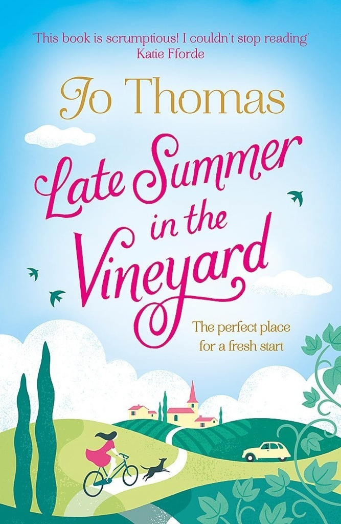 Late Summer in the Vineyard - Jo Thomas