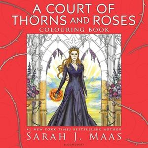 Obrázok A Court of Thorns and Roses Colouring Book