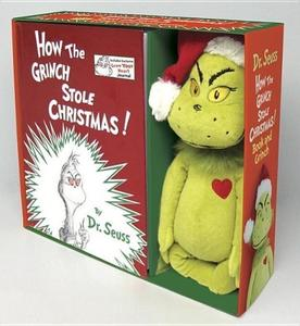 Obrázok How the Grinch Stole Christmas! Book and Grinch