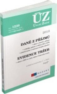 Obrázok ÚZ 1239 Daně z příjmů, evidence tržeb 2018