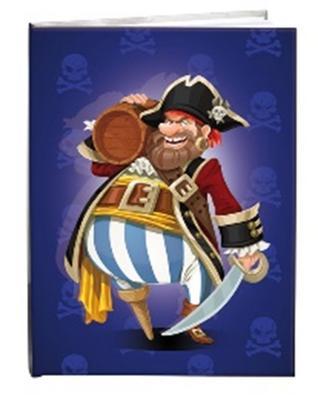 Obrázok Památník A5 13x18cm čistý Pirát