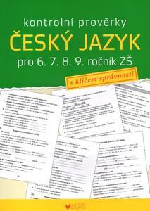 Obrázok Kontrolní prověrky Český jazyk pro 6., 7., 8., 9. ročník ZŠ