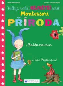 Obrázok Velký, větší, největší sešit Montessori Příroda