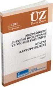 Obrázok ÚZ 1231 Mezinárodní justiční spolupráce ve věcech trestních, Státní zastup.