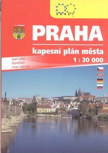Obrázok Praha kapesní plán města