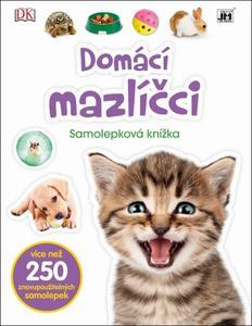 Obrázok Samolepková knížka Domácí mazlíčci