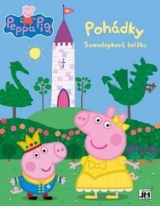Obrázok Samolepková knížka Peppa Pig Pohádky