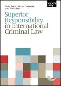 Obrázok Superior Responsibility in International Criminal Law