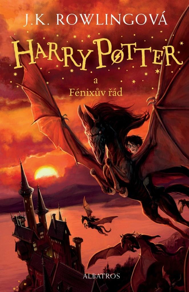 Harry Potter a Fénixův řád (5. díl) - Joanne K. Rowlingová
