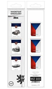 Obrázok Magnetická záložka České automobily - MZ 103