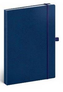 Obrázok Notes Vivella tečkovaný modrý/modrý