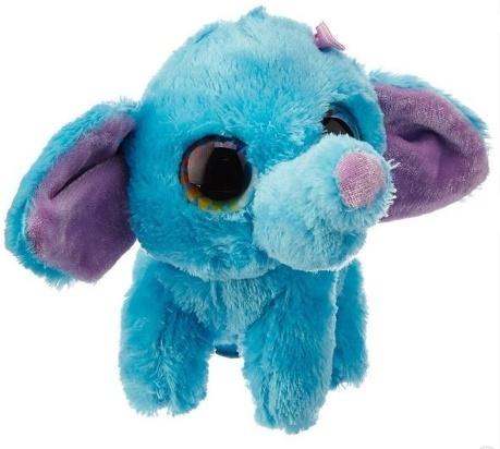 Plyš očka slon modrý