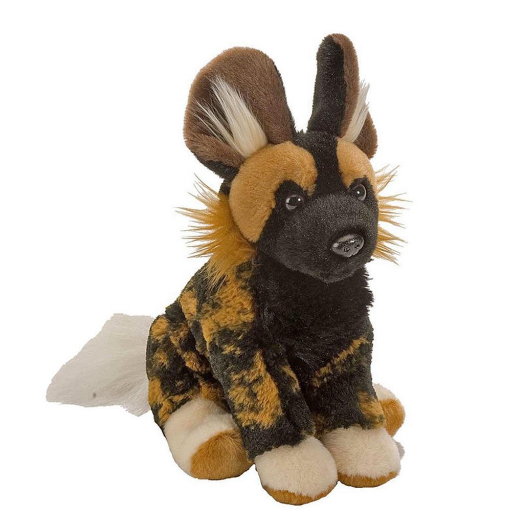 Plyš očka pes hyenovitý