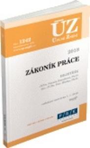 Obrázok ÚZ 1242 Zákoník práce 2018, rejstřík
