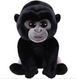 Obrázok Plyš očka velká Gorila černostříbrná
