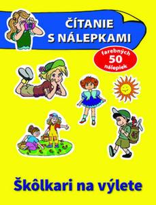 Obrázok Čítanie s nálepkami: Škôlkari na výlete