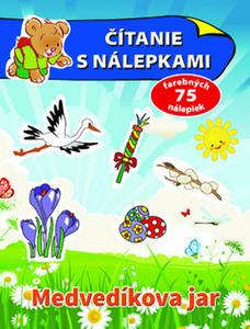 Obrázok Čítanie s nálepkami: Medvedíkova jar