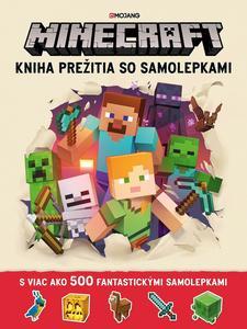 Obrázok Minecraft Kniha prežitia so samolepkami