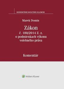 Obrázok Zákon č. 180/2014 Z.z. o podmienkach výkonu volebného práva