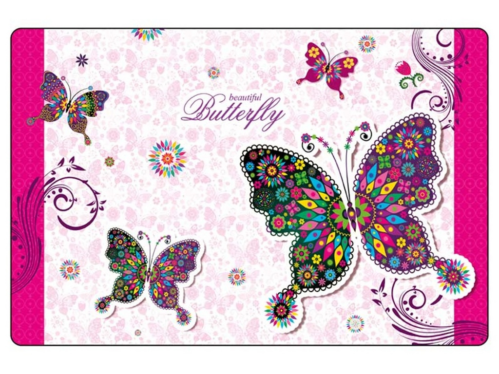 Podložka na stůl 60x40 cm Motýli
