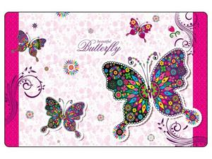Obrázok Podložka na stůl 60x40 cm Motýli