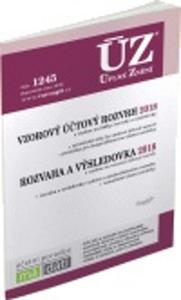 Obrázok ÚZ 1245 Vzorový účtový rozvrh 2018, Rozvaha a výsledovka 2018